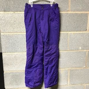 Children's Place Purple Ski Snow Pants Size 8